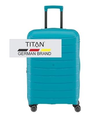 Troler TITAN LIMIT 4 roti M Exp Albastru