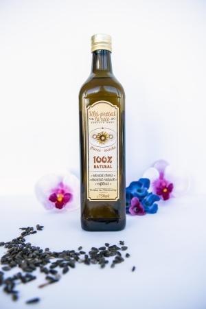 Ulei presat la rece de floarea-soarelui