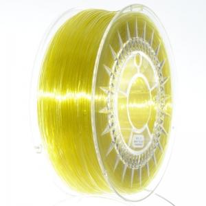 Filament PETG 1.75 Galben Deschis Translucid / Bright Yellow Transparent