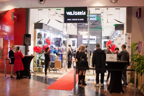 Deschiderea oficiala Valigeria - Baneasa Shopping City 3