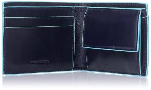 Portofel Orizontal Blue Square Piquadro3