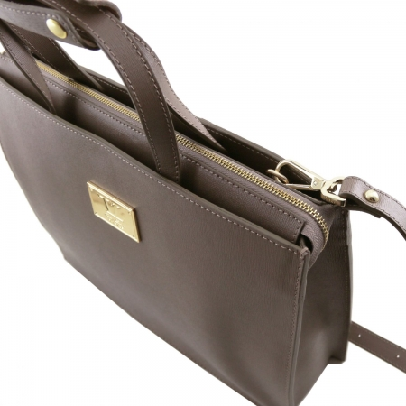 Servieta Palermo Saffiano - Tuscany Leather4