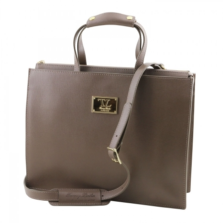 Servieta Palermo Saffiano - Tuscany Leather0