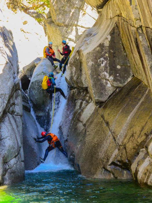 Canyoning Samothraki 1