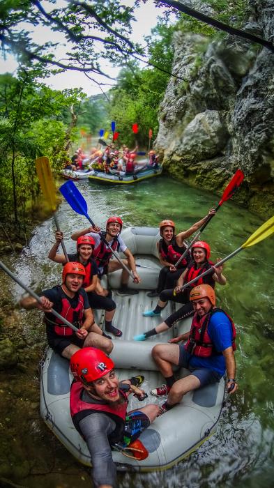 Rafting pe Nera 1