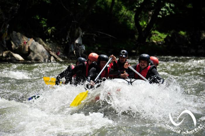 Rafting pe Jiu [2]