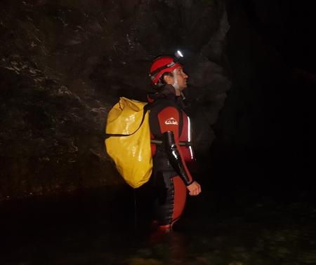 Explorare Peștera Topolnița [1]