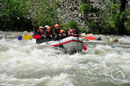 Rafting pe Jiu [5]