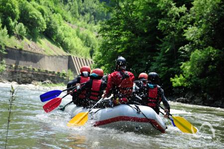 Rafting pe Jiu [7]