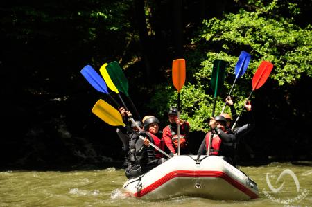 Rafting pe Jiu [6]