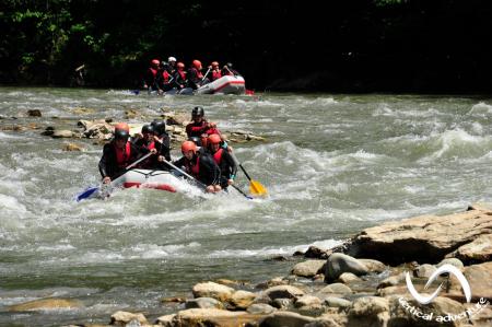 Rafting pe Jiu [1]