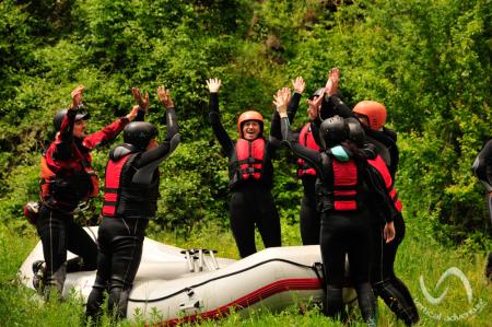 Rafting pe Jiu [8]