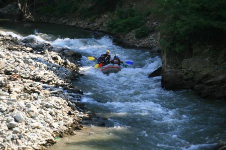 Rafting pe Jiu [3]