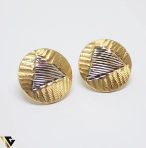Cercei din aur 14k, 3.46 grame