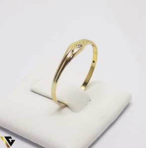 Inel cu diamant de cca. 0.005ct. din aur 8k, 0.63 grame