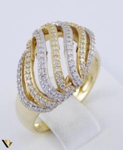 Inel din aur 9k, Zieconiu, 4.61 grame