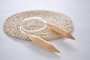 Andrele circulare din lemn 20 mm - pentru ghemuri Chunky