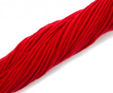 Fire super chunky lana Merino Scarlet2