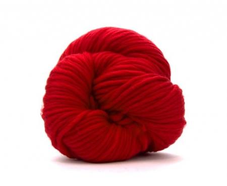 Fire super chunky lana Merino Scarlet