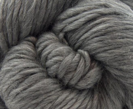 Fire super chunky lana Merino Grey1
