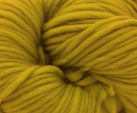 Fire super chunky lana Merino Mustard