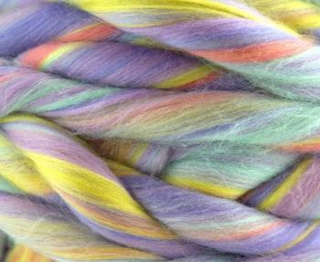 Fular circular lână Merino Unicorn