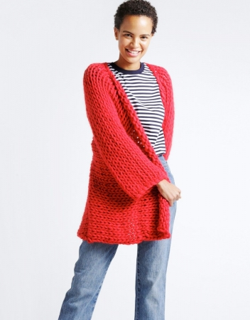 Kit tricotat cardigan Fearless