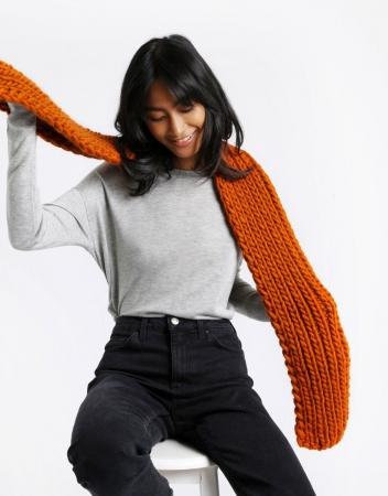 Kit tricotat fular Whistler