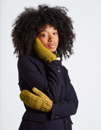 Kit tricotat manusi Fight the power1