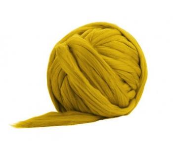 Fir Gigant lână Merino Mustard