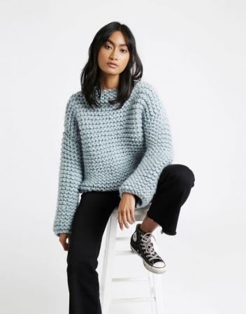 Kit tricotat pulover Dreamin Jumper7