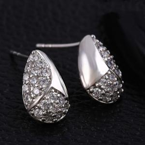 Blu fashion earring (23735)