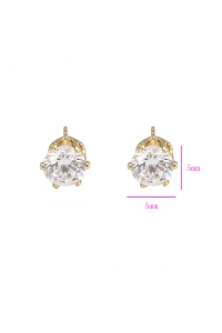 Blu special price zircon pin(21782)