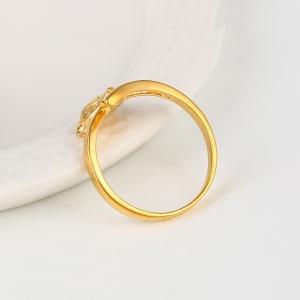 Inel Blu Fox auriu