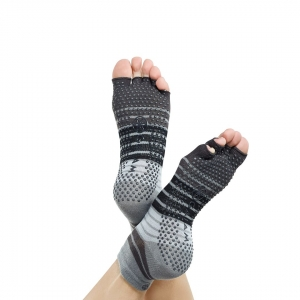 Șosete Fara Degete Yoga Gaiam - Gri2