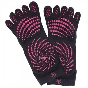 Șosete Cu Degete Yoga Gaiam - Roz S/M