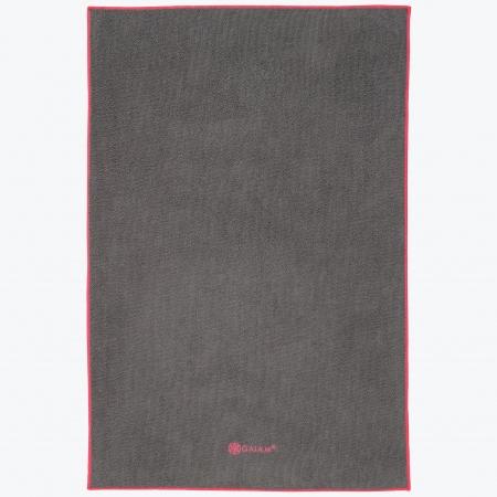Prosop Mâini Yoga Gaiam - Gray/Pink0