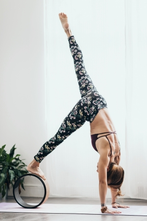 Roată Yoga Design Lab Plută - Aadrika Black5