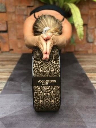 Roată Yoga Design Lab Plută - Mandala Black4