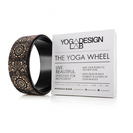 Roată Yoga Design Lab Plută - Mandala Black7