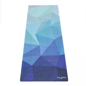 Saltea Commuter Yoga Design Lab - 1,5 mm - Geo Blue0