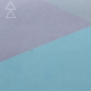 Saltea Commuter Yoga Design Lab - 1,5 mm - Geo Blue2