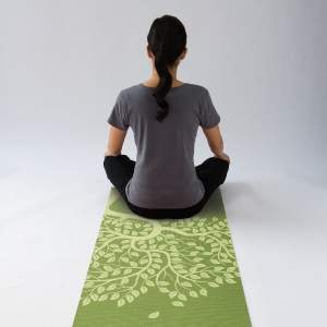 Saltea Yoga Gaiam - 4 mm - Copacul Vieții