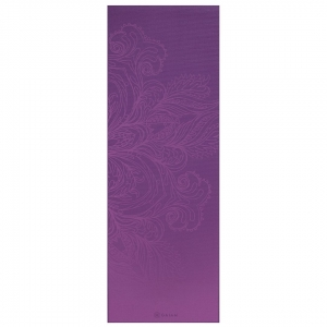 Saltea Yoga Gaiam - 4 mm - Fading Flower0