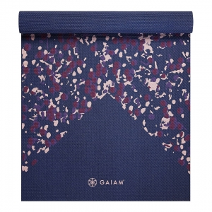 Saltea Yoga Gaiam - 4 mm - Speckled