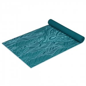Saltea Yoga Gaiam - 4 mm - Spring Fern2