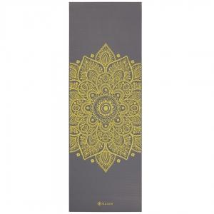 Saltea Yoga Gaiam - 6 mm - Citron Sundial
