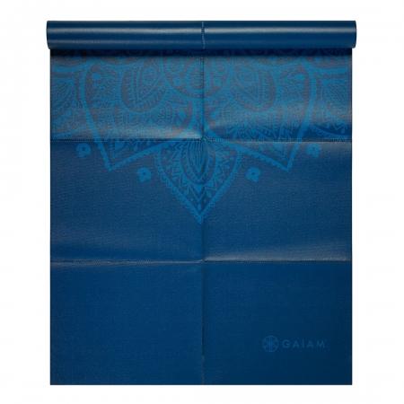 Saltea Yoga Gaiam Pliabila - 2 mm - Sundial Albastru0