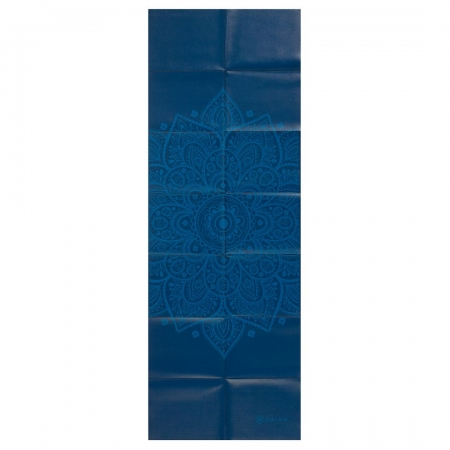 Saltea Yoga Gaiam Pliabila - 2 mm - Sundial Albastru2