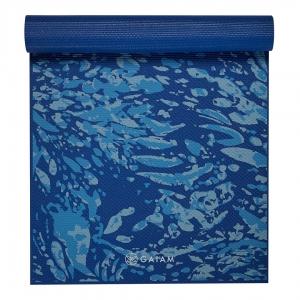 Saltea Yoga Gaiam Premium - 6 mm - Coastal Blue1